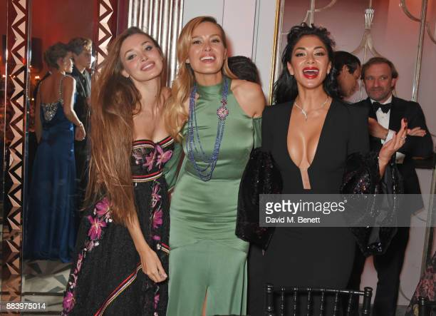 Lara Lieto Petra Nemcova and Nicole Scherzinger attend the BOVET 1822 Brilliant is Beautiful Gala benefitting Artists for Peace and Justice's Global...