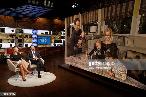 Lara Logan and Charlie Rose interview New Orleans Saints quarterback Drew Brees and his wife Brittany for the next edition of the CBS News special...