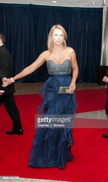 Lara Logan arrives for the White House Correspondents' Association dinner