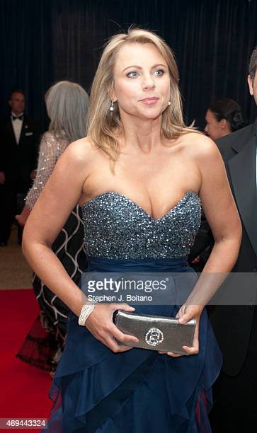 Lara Logan arrives for the White House Correspondents' Association dinner