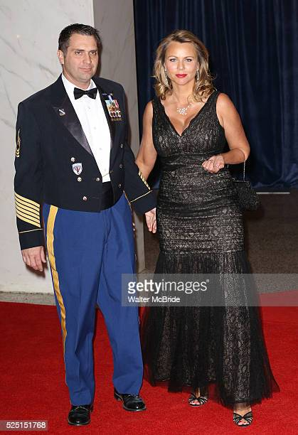 Lara Logan husband Joseph Burkett attending the 2013 White House Correspondents' Association Dinner at the Washington Hilton Hotel in Washington DC...