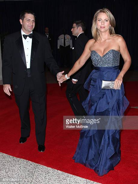 Lara Logan Joseph Burkett attending the White House Correspondents' Association dinner at the Washington Hilton Hotel in Washington DC