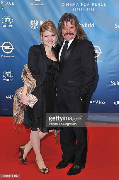 Lara Mandoki and Leslie Mandoki attend the Cinema for Peace Gala at the Konzerthaus Am Gendarmenmarkt during day five of the 62nd Berlin...