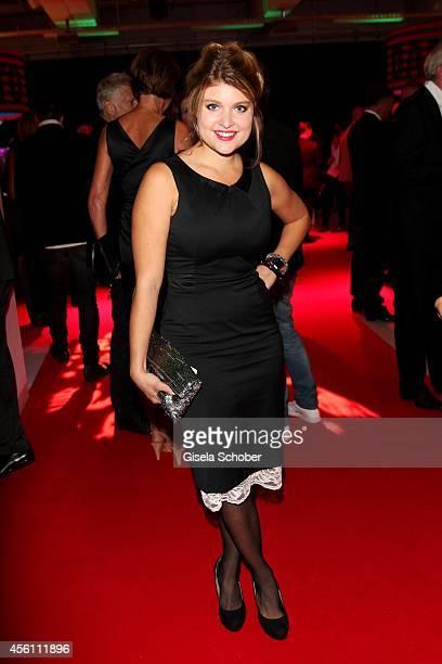 Lara Mandoki arrives at Tribute To Bambi 2014 at Station on September 25, 2014 in Berlin, Germany.