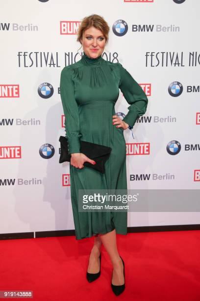 Lara Mandoki attends the BUNTE BMW Festival Night on the occasion of the 68th Berlinale International Film Festival Berlin at Restaurant Gendarmerie...