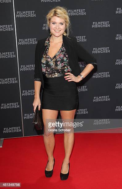 Lara Mandoki attends the opening night of the Munich Film Festival at Mathaeser Filmpalast on June 27 2014 in Munich Germany