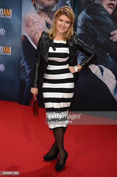 Lara Mandoki attends the premiere of the film 'Who am I' at Zoo Palast on September 23, 2014 in Berlin, Germany.