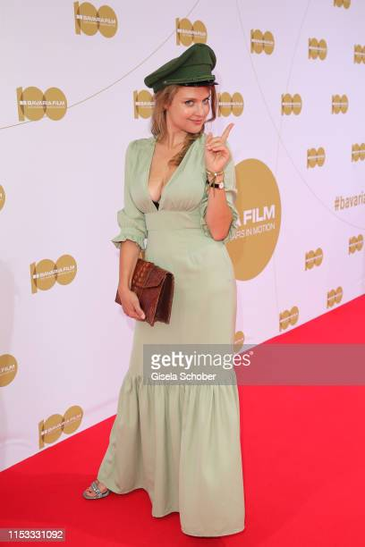 Lara Mandoki during the Bavaria Film Reception One Hundred Years in Motion on the occasion of the 100th anniversary of the Bavaria Film Studios and...