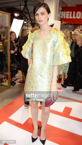 Lara Mullen attends Hello Magazine's 30th anniversary party at Dover Street Market on May 9 2018 in London England