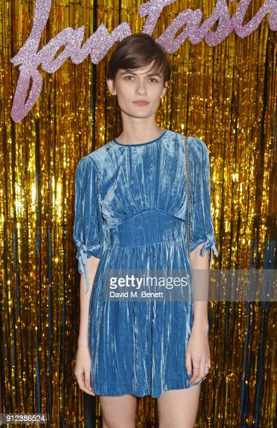 Lara Mullen attends the ALEXACHUNG Fantastic collection party on January 30 2018 in London England