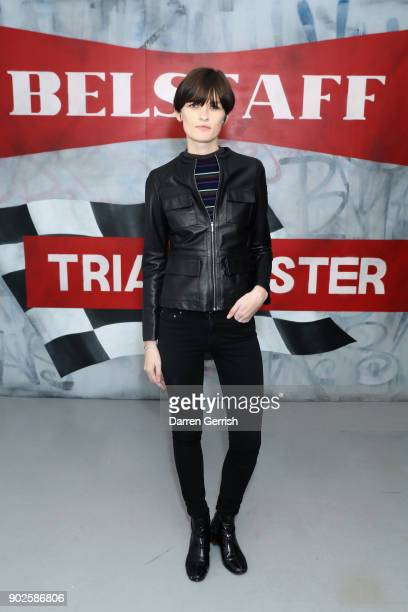 Lara Mullen attends the Belstaff AW18 Mens Womens Presentation during London Fashion Week Men's January 2018 on January 8 2018 in London England