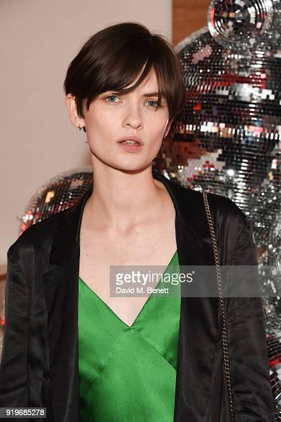 Lara Mullen attends the Halpern x Browns After Midnight on February 17 2018 in London England