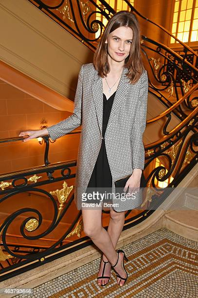"""Lara Mullen attends the launch of Premier Model Management founder Carole White's autobiography """"Have I Said Too Much?: My Life In and Out Of The..."""