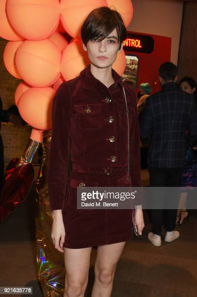 Lara Mullen attends the Naked Heart Foundation's Fabulous Fund Fair at The Roundhouse on February 20 2018 in London England