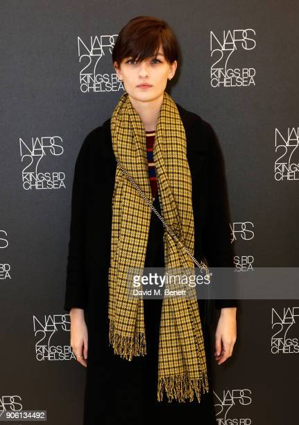 Lara Mullen attends the NARS Kings Road Opening Party on January 17 2018 in London United Kingdom