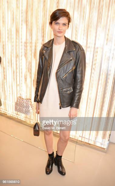 Lara Mullen attends the opening of Maison Alaia on New Bond Street on April 26 2018 in London England