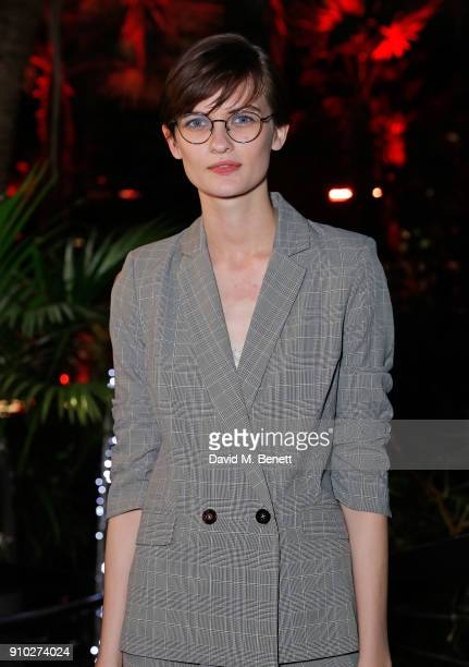 Lara Mullen attends the Warehouse Barbican InsideOut Launch Event at The Conservatory Barbican Centre on January 25 2018 in London England