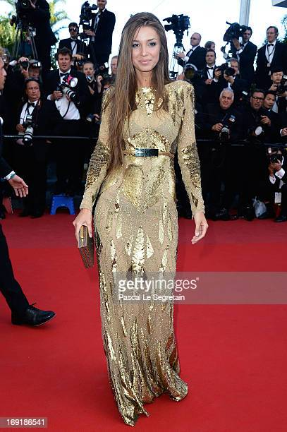 Lara Nieto attends the 'Cleopatra' premiere during The 66th Annual Cannes Film Festival at The 60th Anniversary Theatre on May 21 2013 in Cannes...
