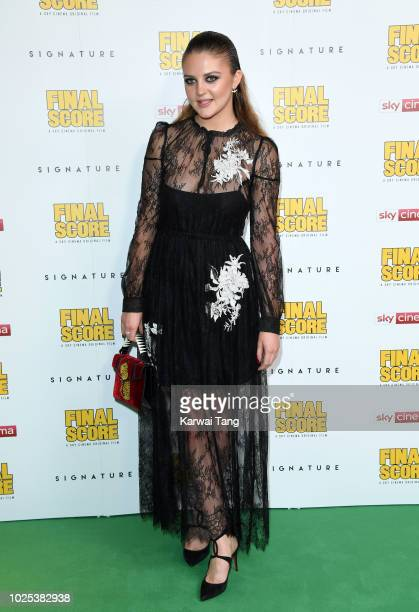 Lara Peake attends the World Premiere of Final Score at Ham Yard Hotel on August 30 2018 in London England