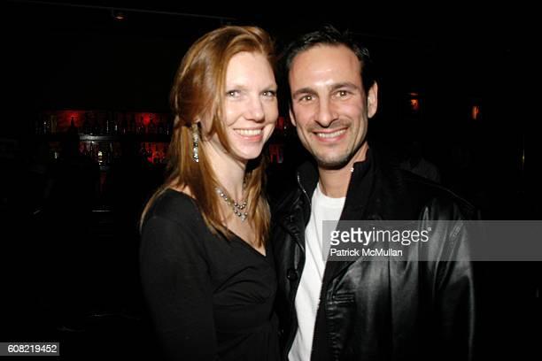 Lara Schlachet and David Schlachet attend MONDAYS HARD and the premiere of MANIKIN MONDAYS at The Plumm on April 16 2007 in New York City