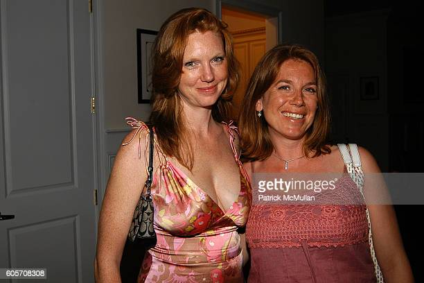 Lara Schlachet and Talya attend Party in Honor of KIMBERLY and ERIC VILLENCY Hosted by David Zinczenko and Patrick McMullan at CAIN ESTATE on July 3...