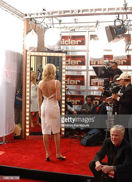 Lara Spencer 12864_DK_0004JPG during TNT/TBS Broadcasts 13th Annual Screen Actors Guild Awards Red Carpet at Shrine Auditorium in Los Angeles...