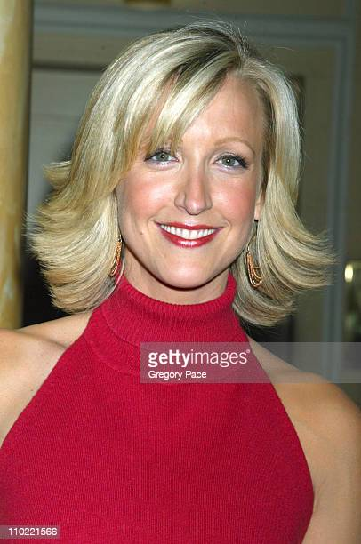 Lara Spencer anchor of The Insider during The Syndicated Network Television Association Day 2005 at The Grand Hyatt Hotel in New York City New York...