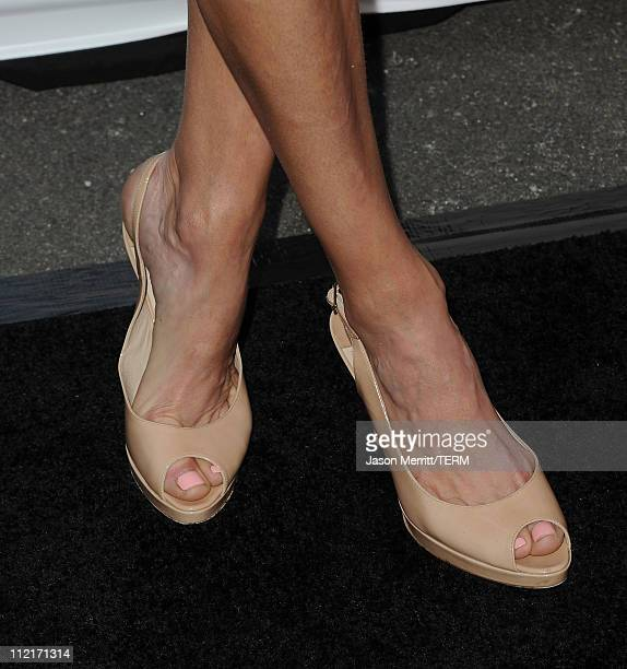 Lara Spencer arrives at the 16th Annual Los Angeles Antiques Show on April 13 2011 in Santa Monica California