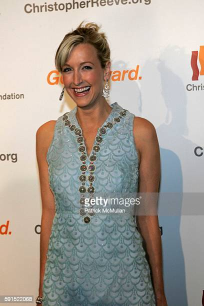 Lara Spencer attends Catherine ZetaJones and Michael Douglas Receive the Christopher Reeve Spirit of Courage Award at A Magical Evening Presented by...