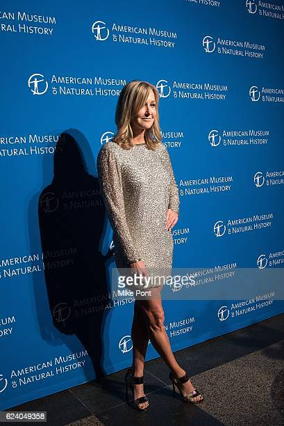 Lara Spencer attends the 2016 American Museum Of Natural History Museum Gala at American Museum of Natural History on November 17 2016 in New York...