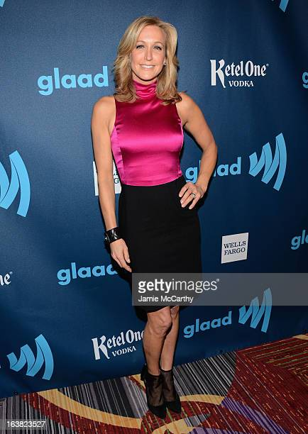 Lara Spencer attends the 24th Annual GLAAD Media Awards on March 16 2013 in New York City