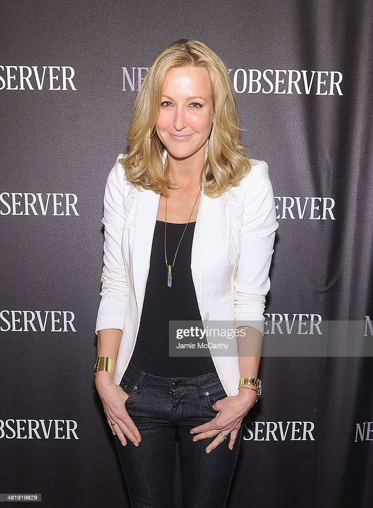 Lara Spencer attends The New York Observer Relaunch Event on April 1, 2014 in New York City.