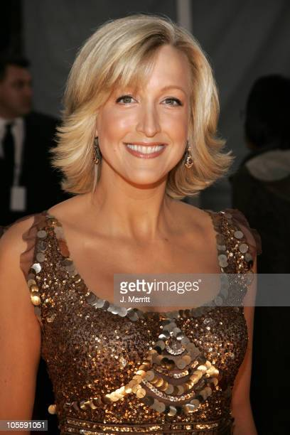 Lara Spencer during 31st Annual People's Choice Awards Arrivals at Pasadena Civic Auditorium in Pasadena California United States