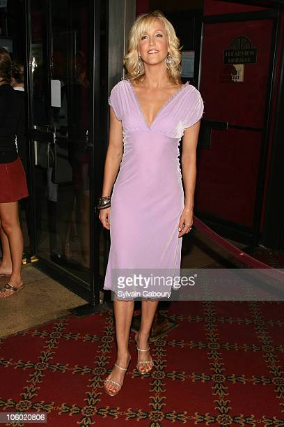 Lara Spencer during Invincible New York Premiere at Ziegfeld Theater in New York NY United States