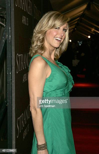 Lara Spencer during Perfect Stranger New York Premiere Arrivals at Ziegfeld Theater in New York City New York United States