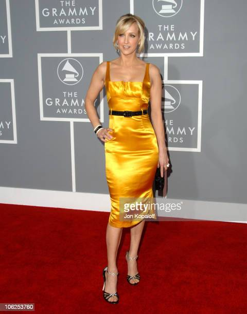 Lara Spencer during The 49th Annual GRAMMY Awards Arrivals at Staples Center in Los Angeles California United States