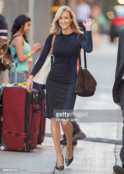 Lara Spencer is seen at 'Jimmy Kimmel Live' on September 24 2014 in Los Angeles California