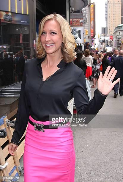 Lara Spencer is seen on June 19 2012 in New York City