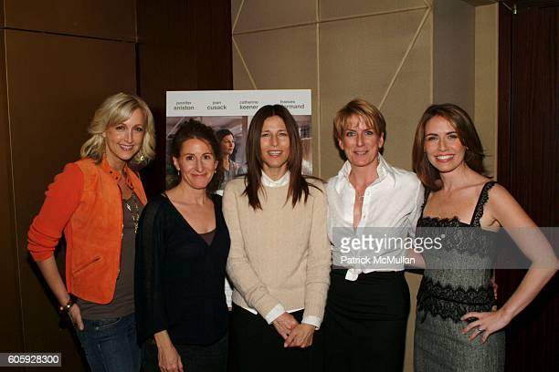 Lara Spencer Nicole Holofcener Catherine Keener Felicia Taylor and Alexis Glick attend Private screening of Sony Pictures Classics FRIENDS WITH MONEY...