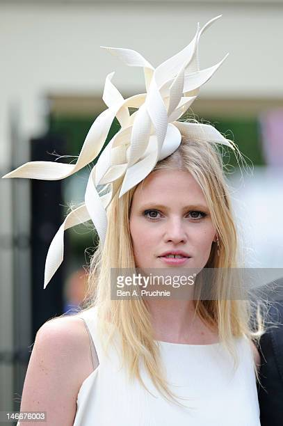 Lara Stone attends day four of Royal Ascot at Ascot Racecourse on June 22, 2012 in Ascot, England.