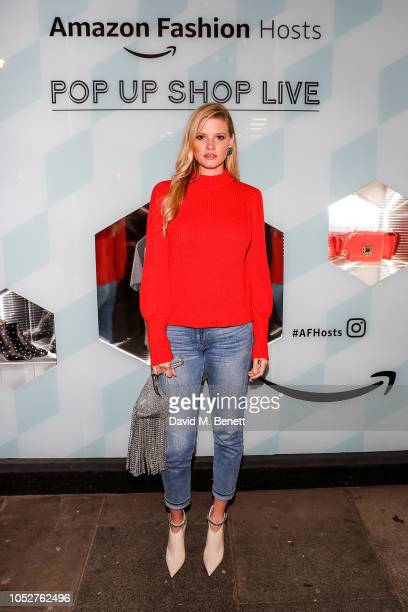 Lara Stone attends the Amazon Fashion popup launch event on October 22 2018 in London England