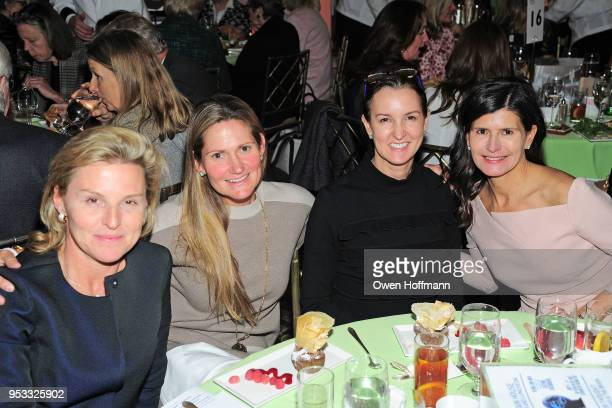 Lara Traflet Genie Egerton Warburton Alexia Hamm Ryan and Guest attends Fountain House Symposium and Luncheon at The Pierre Hotel on April 30 2018 in...