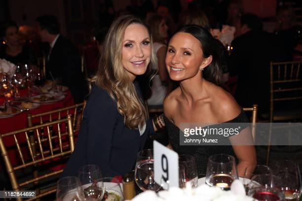 Lara Trump and Georgina Bloomberg attend the Rescue Dogs Rock NYC Second Annual Gala on October 22, 2019 in New York City.