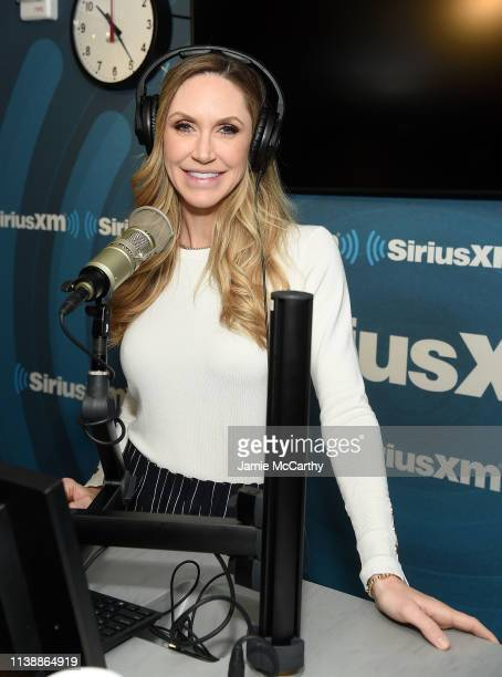 Lara Trump visits SiriusXM at SiriusXM Studios on March 28 2019 in New York City