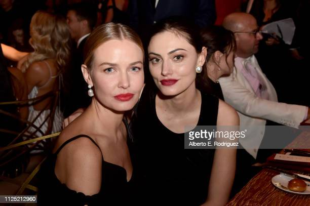 Lara Worthington and Phoebe Tonkin attend the 16th annual G'Day USA Los Angeles Gala at 3LABS on January 26, 2019 in Culver City, California.