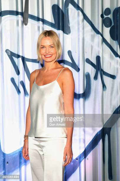 Lara Worthington arrives ahead of the Tiffany Co HardWear Collection Launch on June 1 2017 in Sydney Australia
