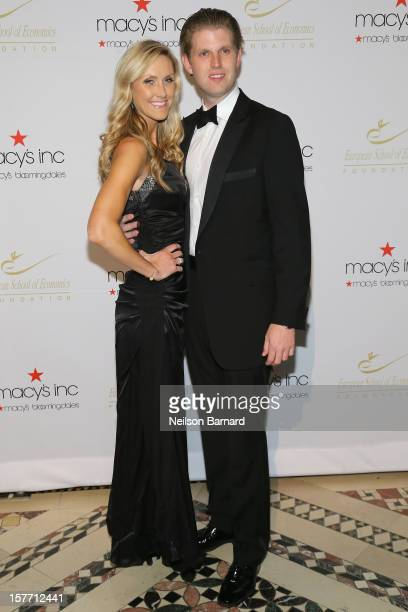 Lara Yunaska and Eric Trump attend European School Of Economics Foundation Vision And Reality Awards on December 5 2012 in New York City