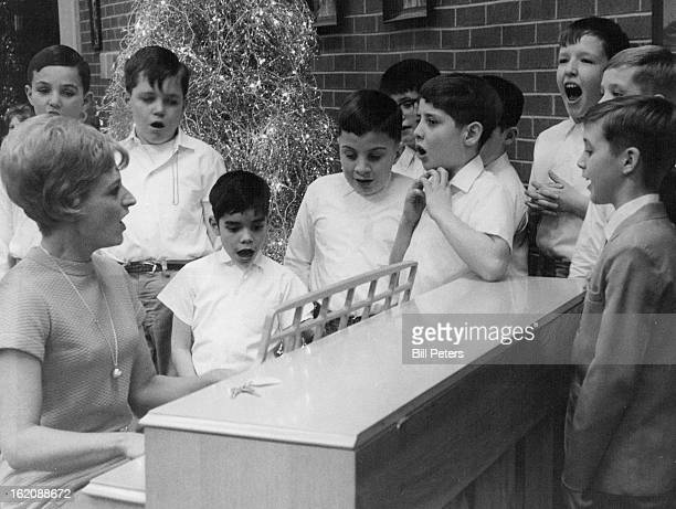 DEC 16 1968 DEC 17 1968 Laradon Hall Holds Yule Fete Children at Laradon Hall School for Exceptional Children E 51st Ave and Lincoln St a school for...