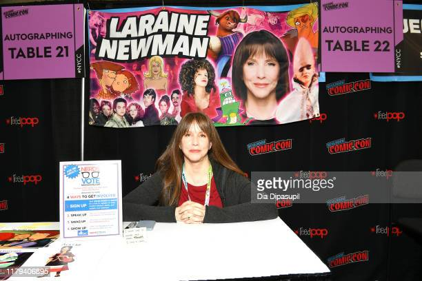 Laraine Newman attends New York Comic Con 2019 Day 4 at Jacob K Javits Convention Center on October 06 2019 in New York City