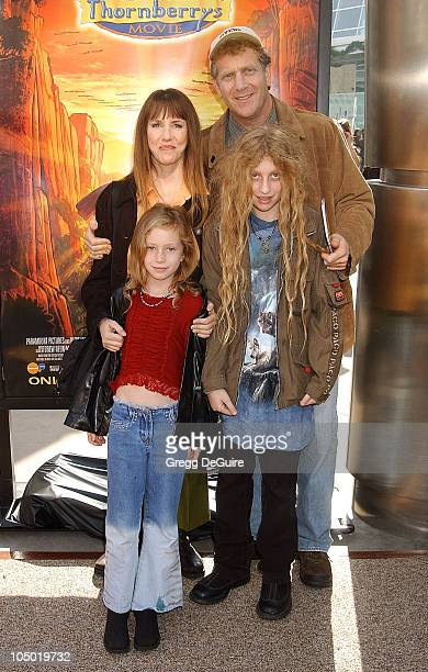Laraine Newman family during The Wild Thornberrys Movie Premiere at Cinerama Dome in Hollywood California United States